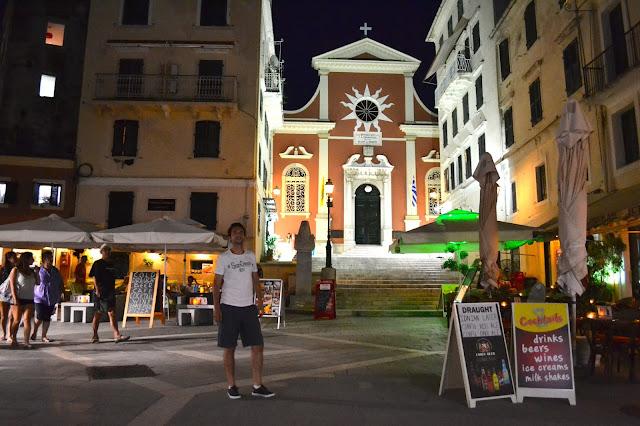 corfu town, catedral corfu, grecia