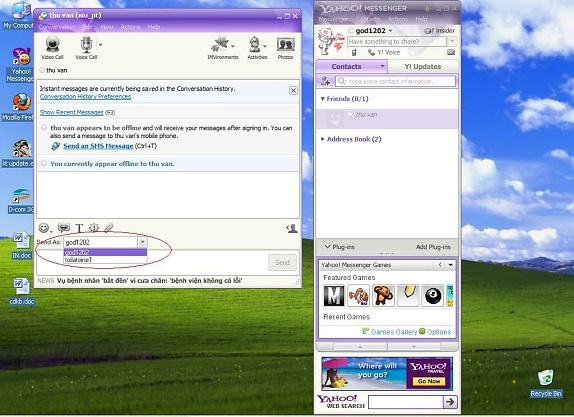 Cách tạo nick ảo trên Yahoo mới nhất