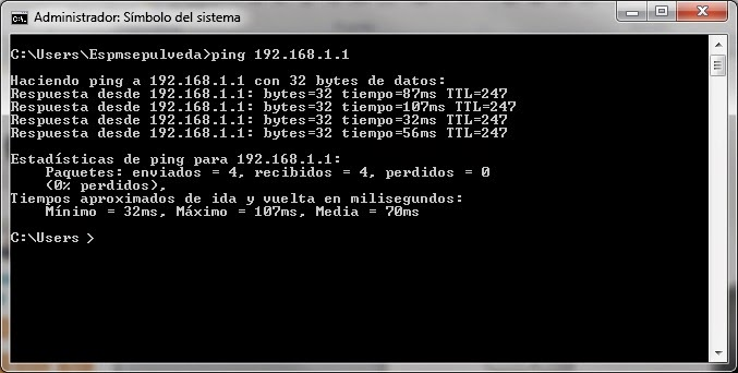 ping windows 7