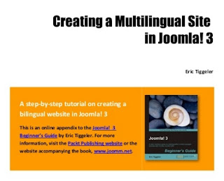 Creating a multilingual site in Joomla 3