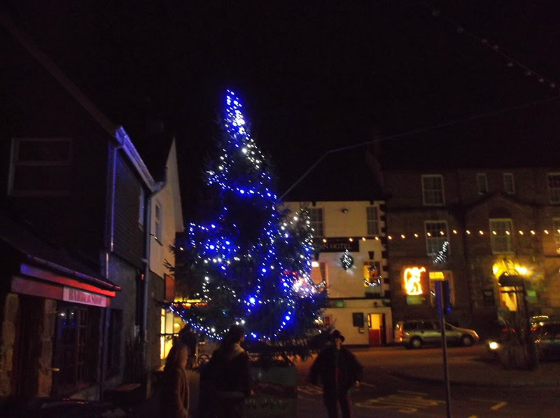 Christmas Tree - Royal Square - St Ives