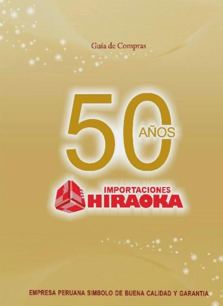 Importaciones hiraoka catalogo 50 años noviembre 2014