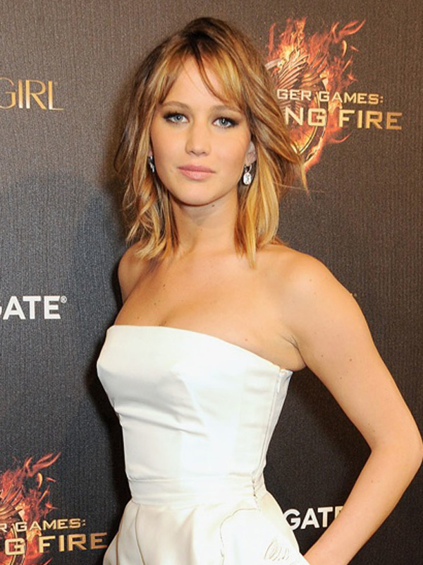 short+hairstyles+jennifer+lawrence+robe+de+cocktail+courte dans mode