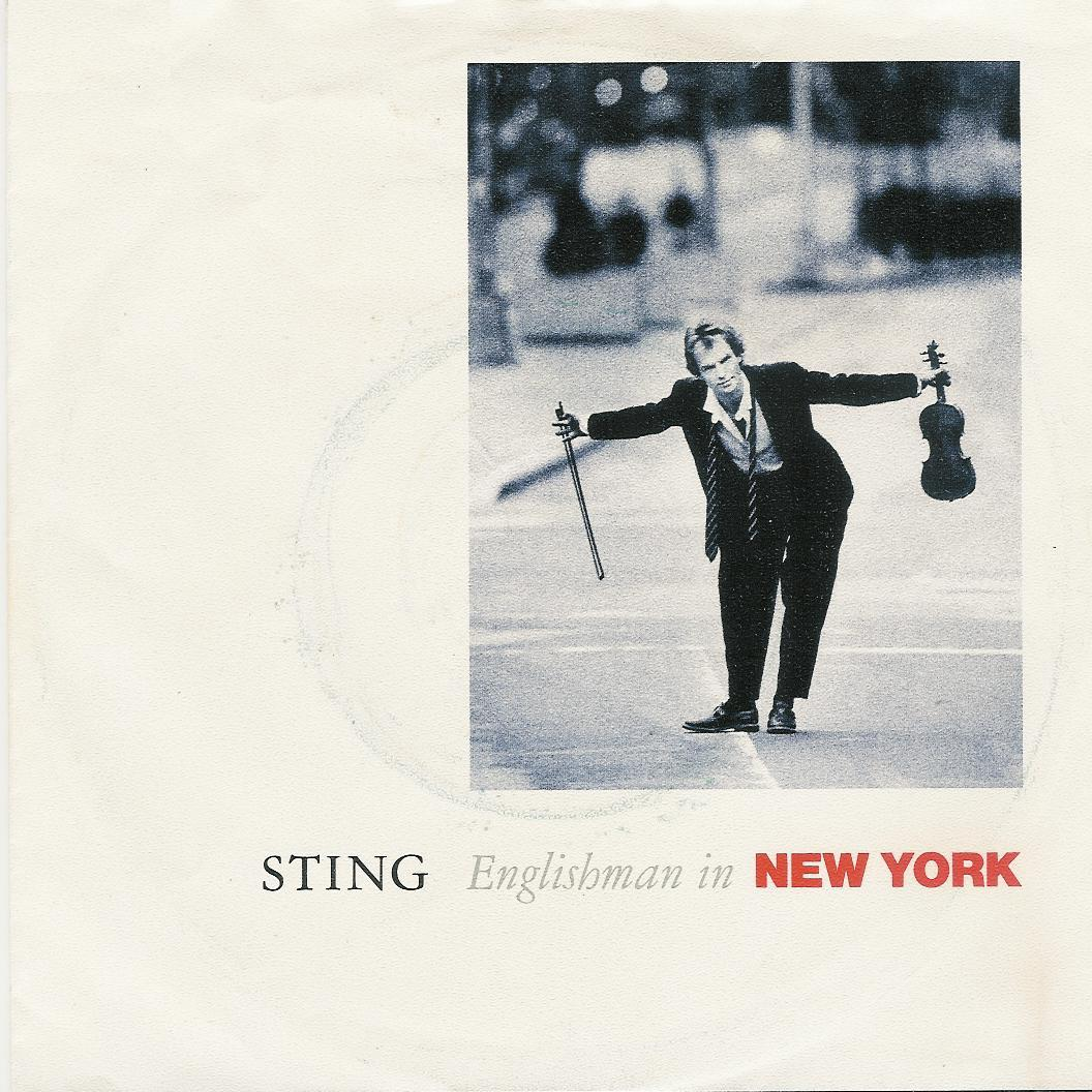 Sting englishman in new york