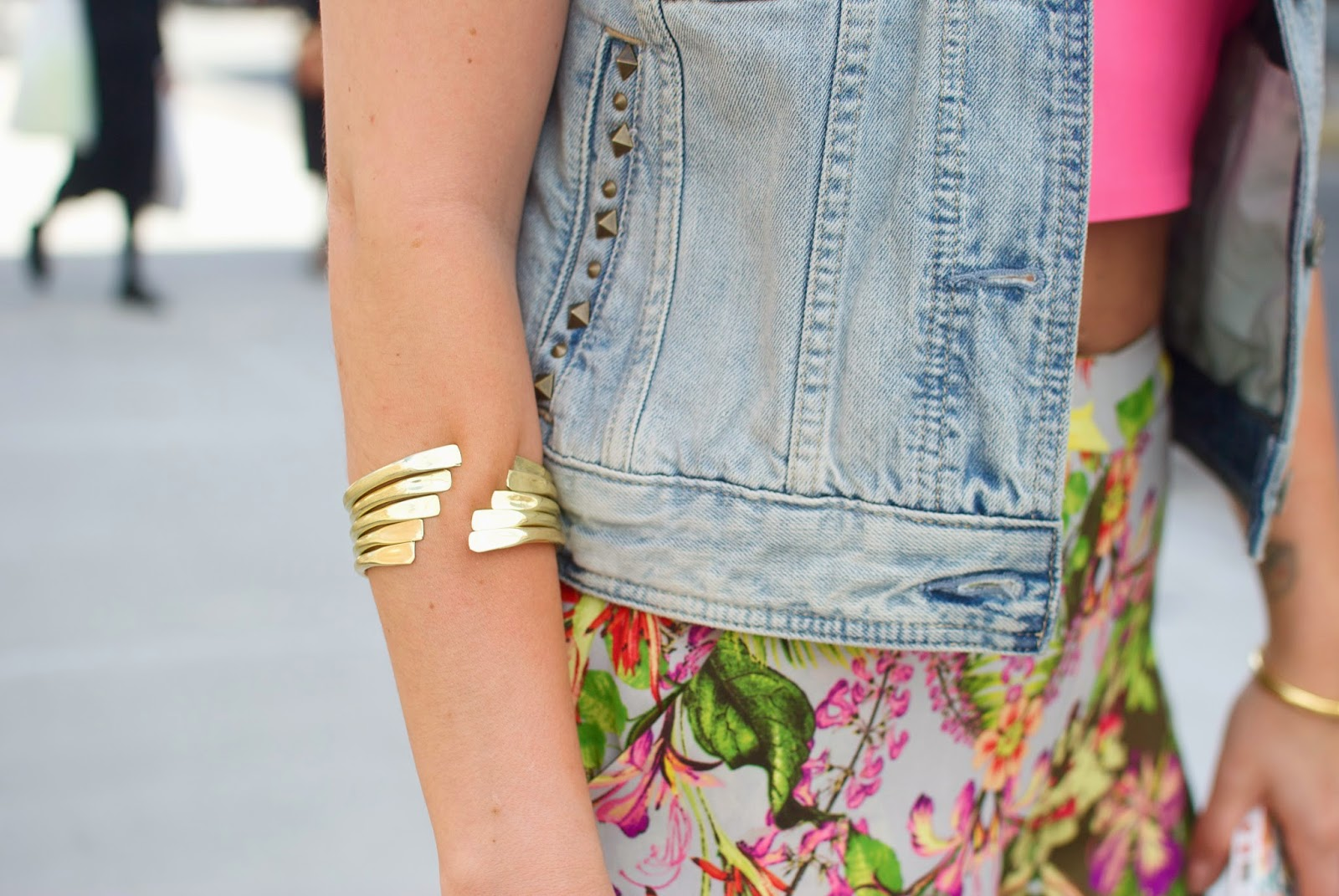 crop top, topshop, topshop for nordstrom, tropical print, wide leg trousers, palazzo pants, dc blogger, fashion blog