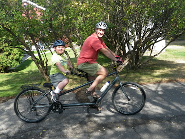 Cory On a Tandem