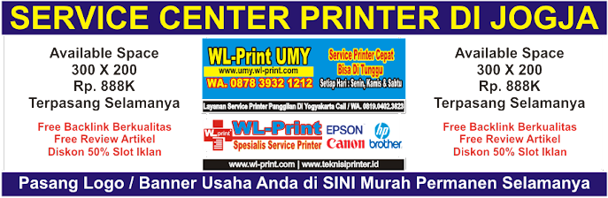 Service Center Printer Di Jogja | Service Printer Panggilan WA. 0819 0402 3626