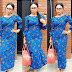 Simple Ankara Gown For African Woman