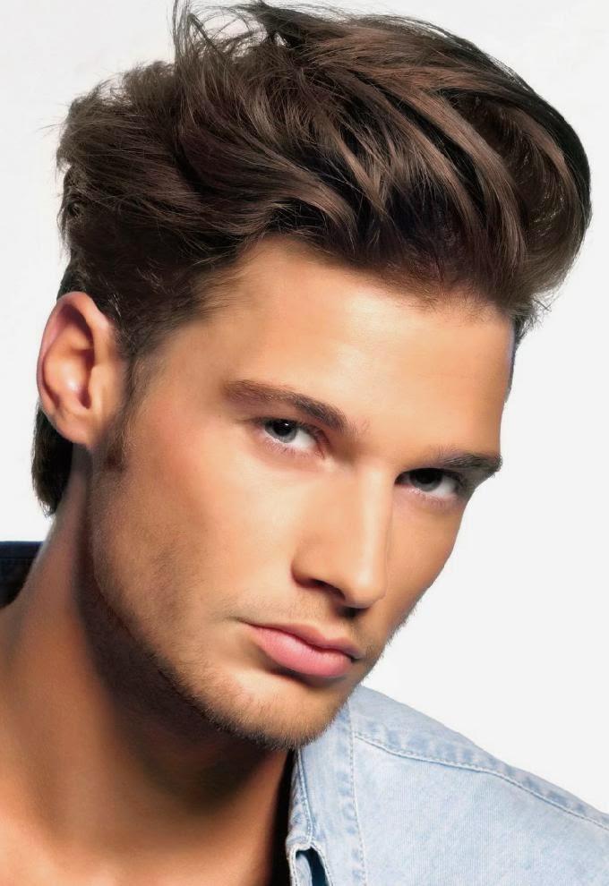 Gaya Rambut Lelaki Mengikut Bentuk Muka Rahang Besar