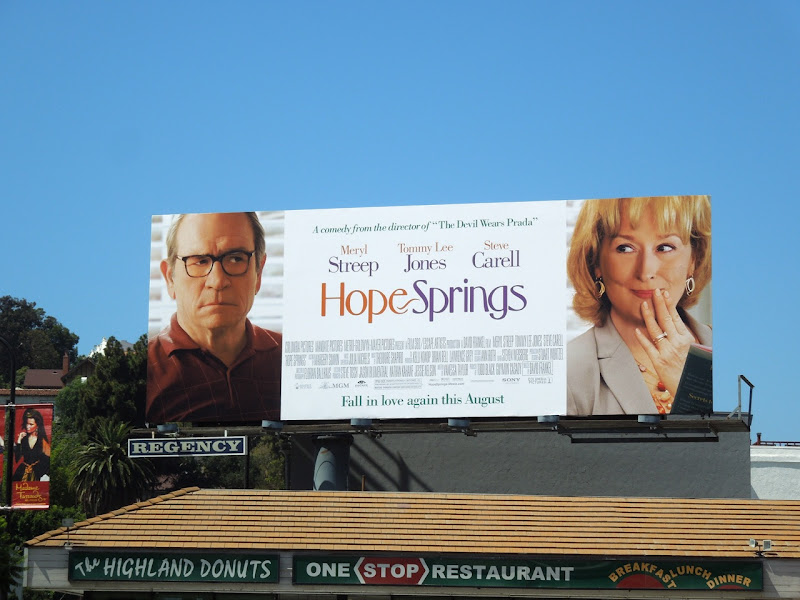 Hope Springs 2012 movie billboard