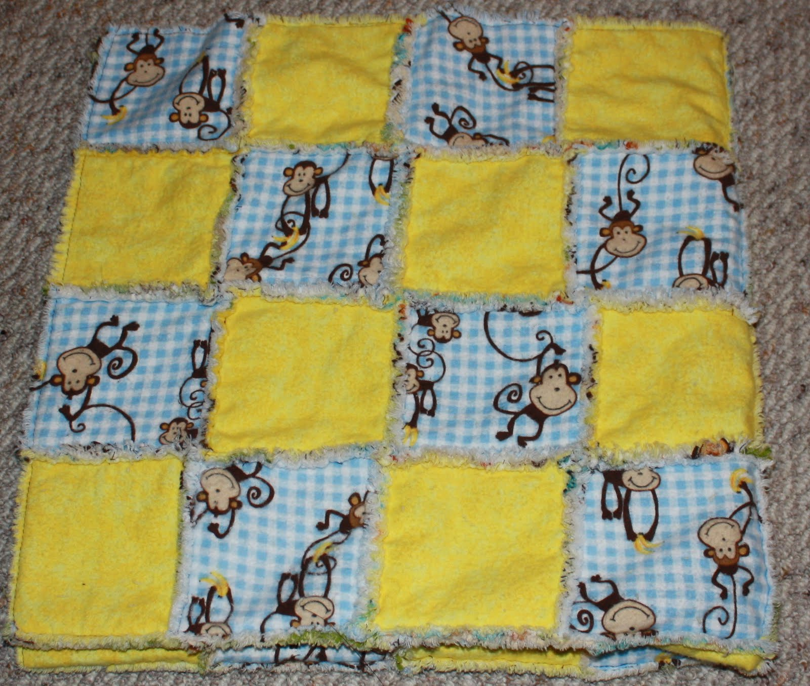 Rag Quilt Ideas Pinterest : Baby Rag Quilts On Pinterest Party Invitations Ideas