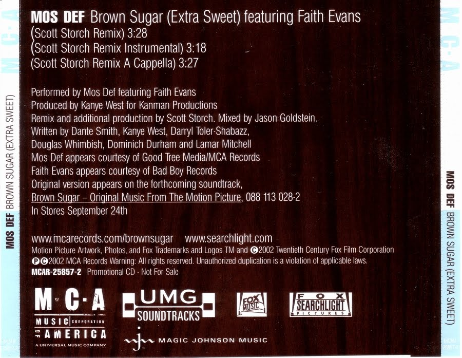 Brown movie soundtrack sugar