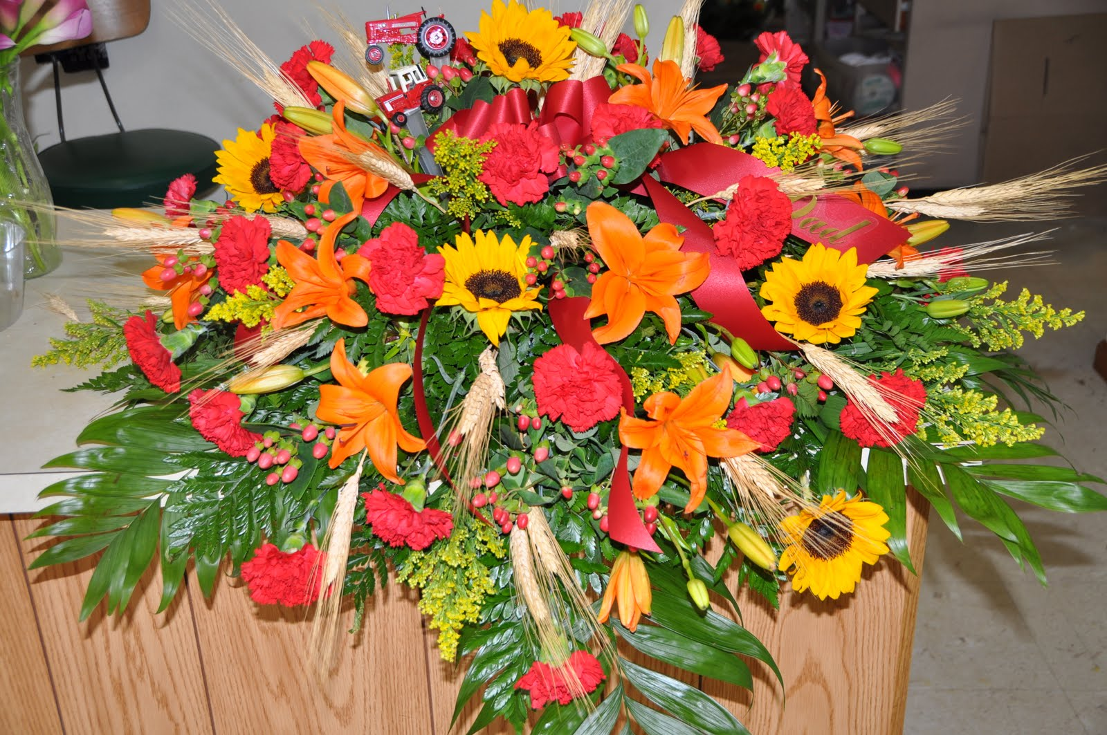 Funeral Flower Arrangements Beautiful Flowers