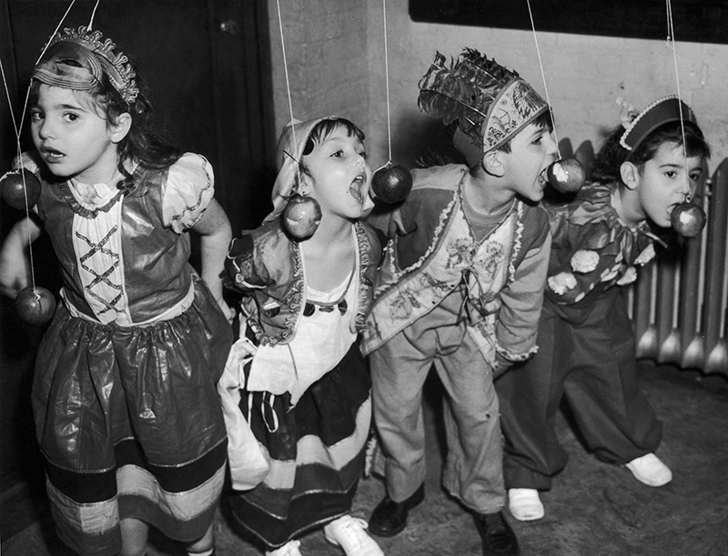 a halloween party circa 1940 in new york city the party was organized for members of tots town a daycare facility at the childrens aid societys james - Halloween For Kids In Nyc