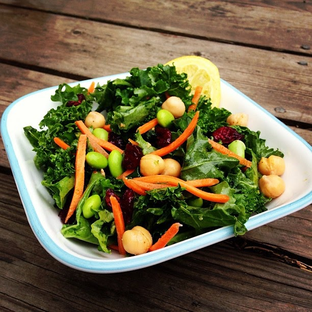 Yummy Kale Salad