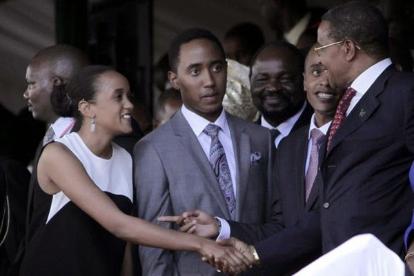 Seen this PHOTO before? NGINA KENYATTA and her brothers ...  Seen this PHOTO...