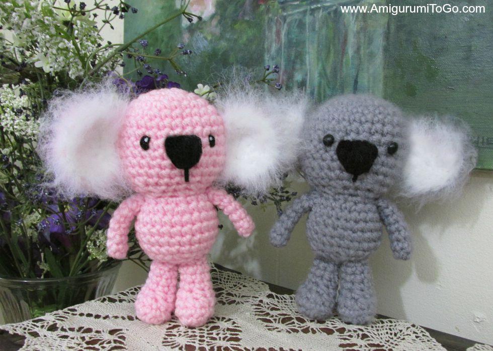 Crochet Pattern Koala Bear : Wee Koala Amigurumi ~ Amigurumi To Go