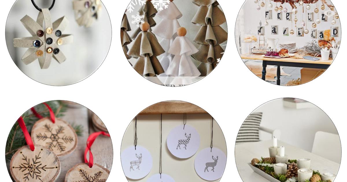 Decoraci n f cil ideas y tutoriales para decorar en navidad for Tutoriales de decoracion