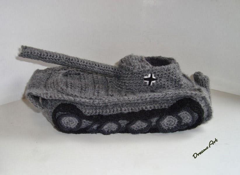 Dreams Art Panzer Pantoffeln