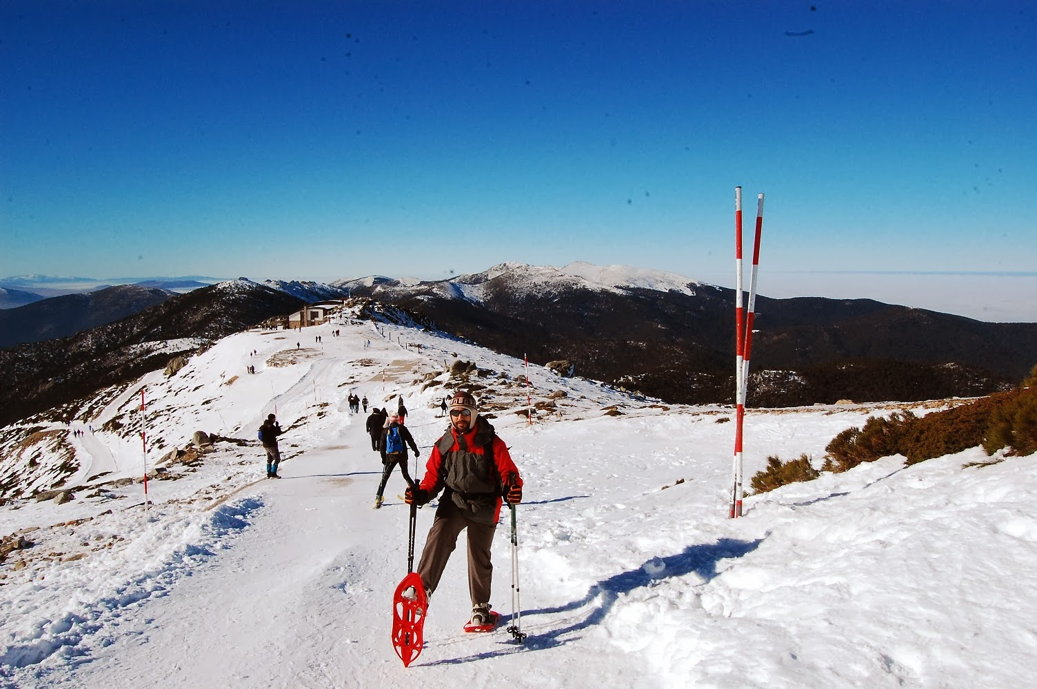 Blog Go Tandem - Subida a Bola con raquetas de nieve