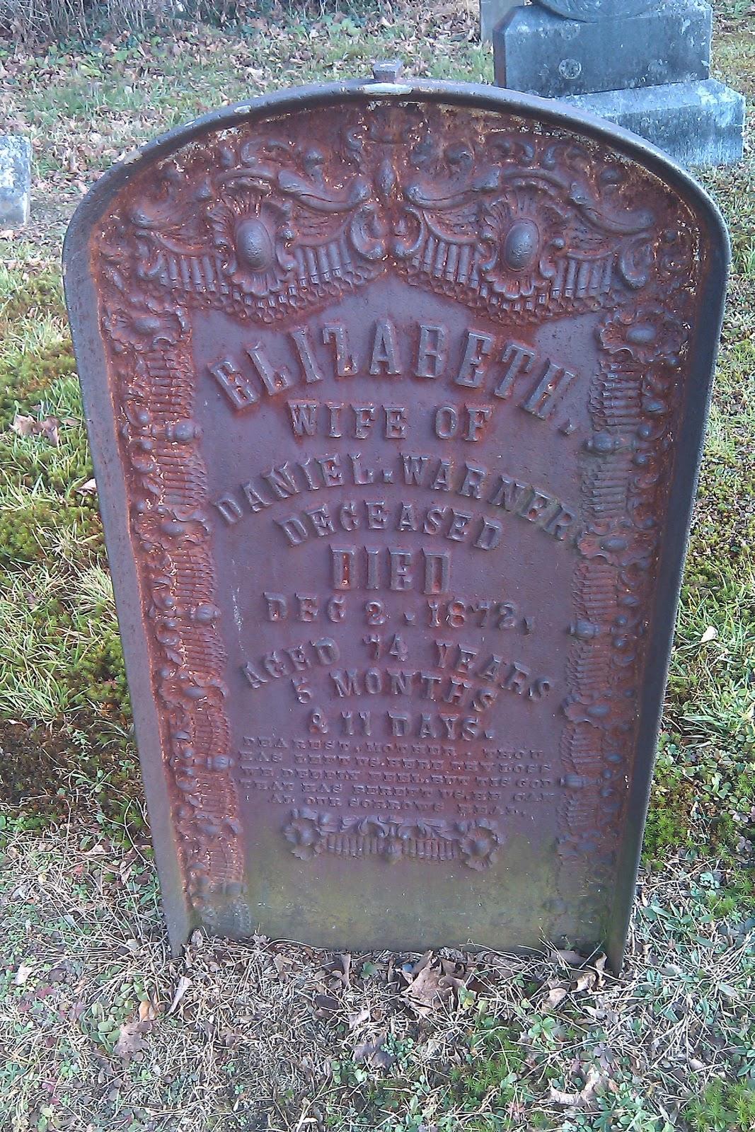 Delaware Water Gap cemetery grave