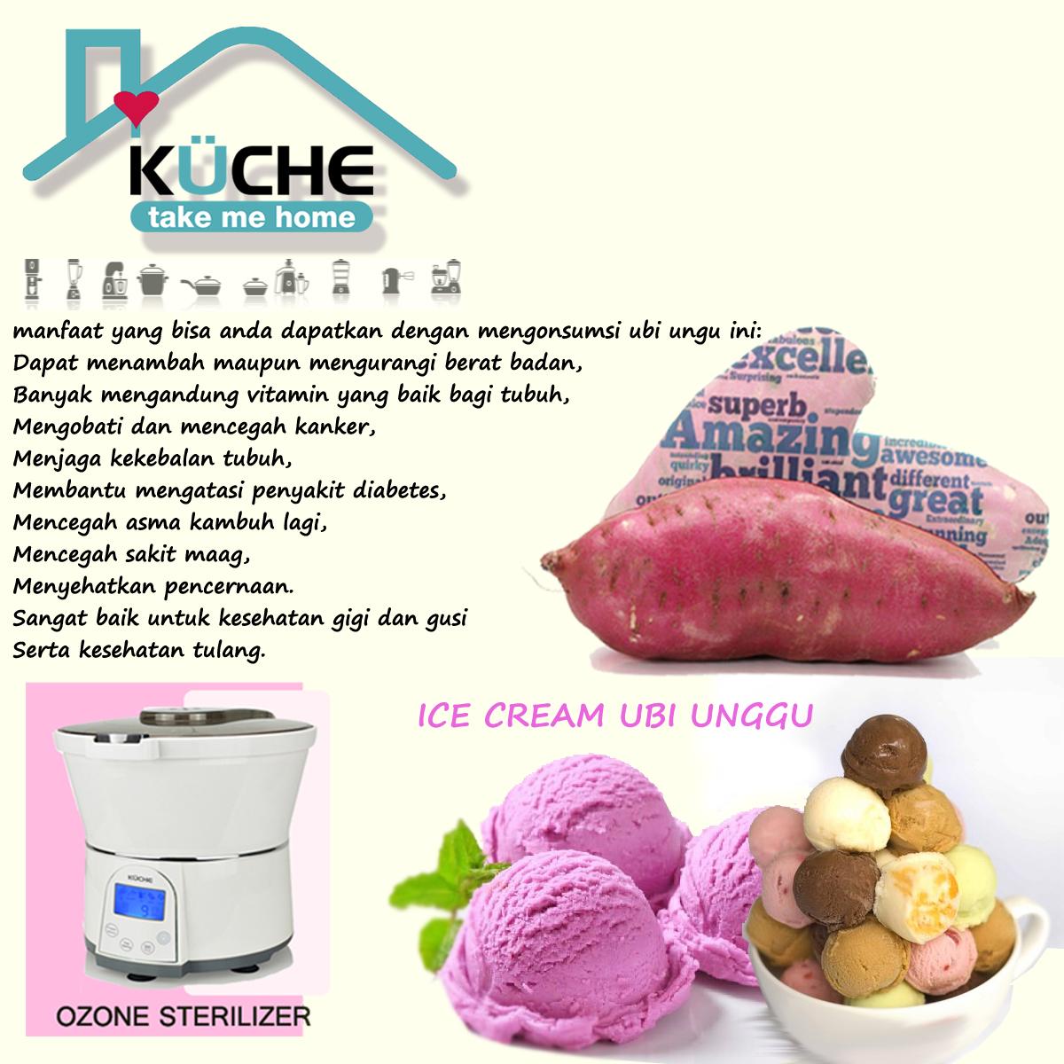 Resep Ice Cream Ubi Unggu | Kuche Indonesia
