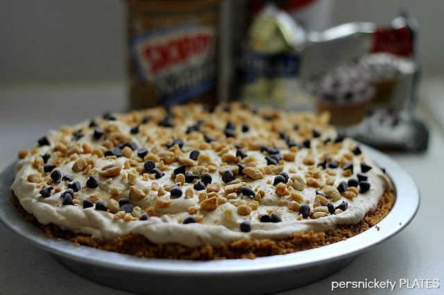 Persnickety Plates: Frozen Peanut Butter Pie #surpriserecipeswap