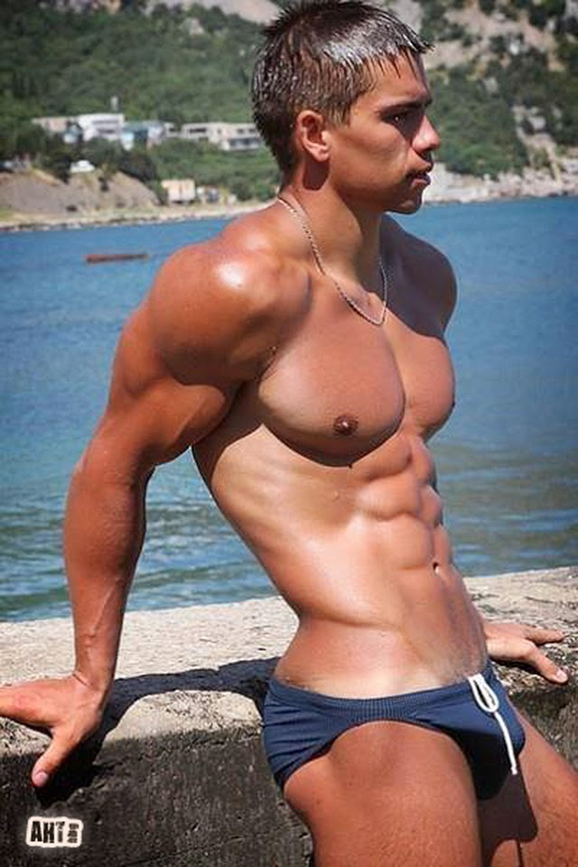 Solo Gay Muscle Porn Pics 3X Muscles