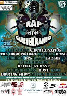 Rap en el Subterráneo 28 de Agosto