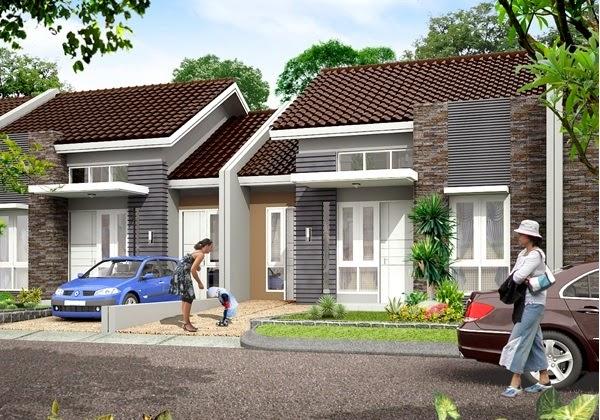 contoh desain rumah tipe 60