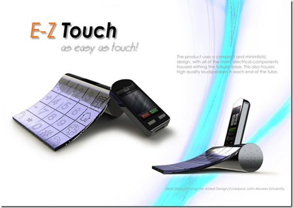 E-Z Touch is a Modern Interpretation of the Ease of using Phone