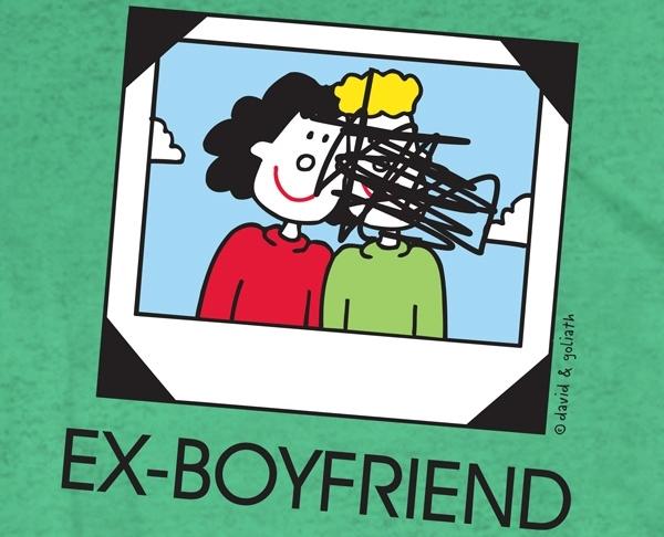 desenho ex namorados