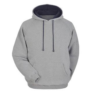 Sweater Distro Abu-abu polos