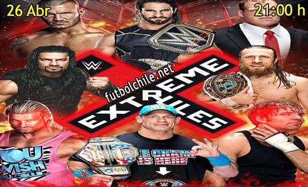 WWE: Extreme Rules En Español - Domingo 26 de Abril 2015 - 21:00 hrs
