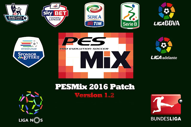 PESMix 2016 Patch Update V1.2