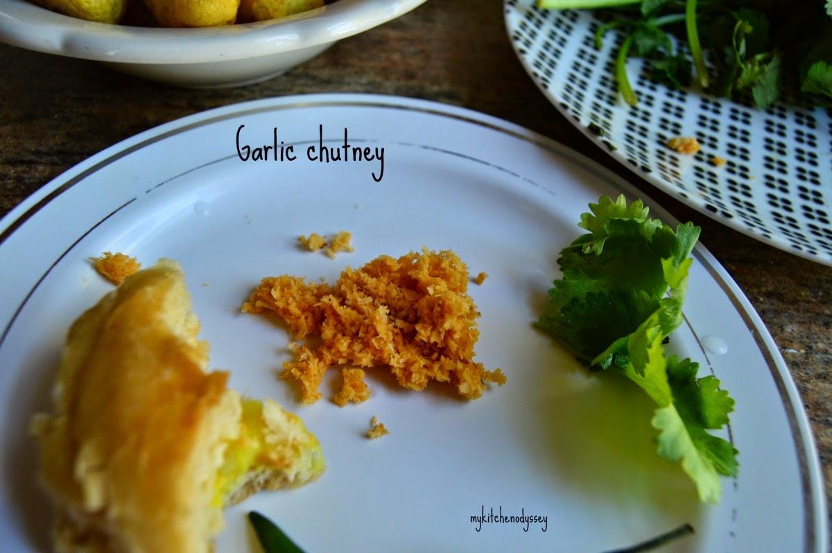 garlic chutney ready