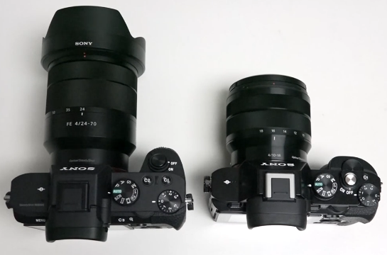 sony a7ii a7r comparison