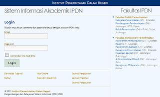 Siakad Ipdn Info Kampus Indonesia