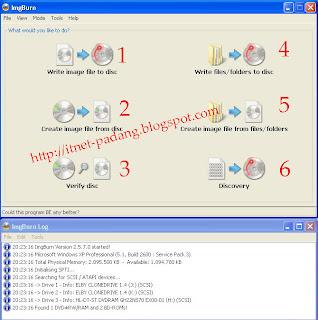 Cara Mudah dan Cepat Membuat File ISO