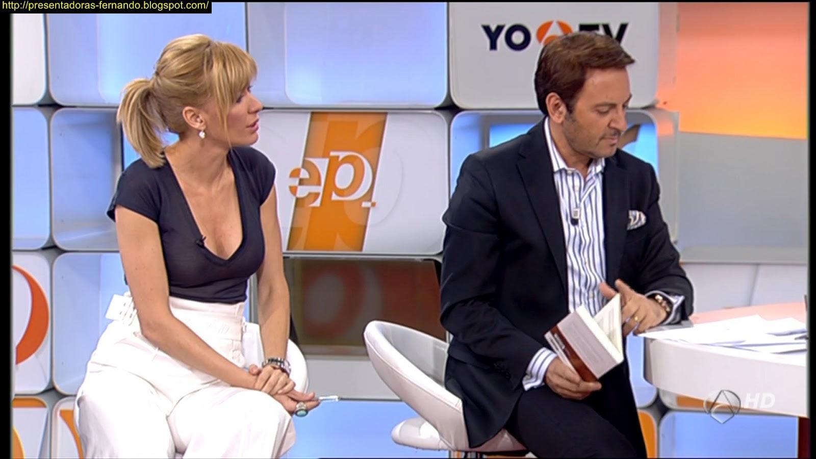 Presentadoras fernando susana griso espejo publico 6 6 2012 for Espejo publico verano