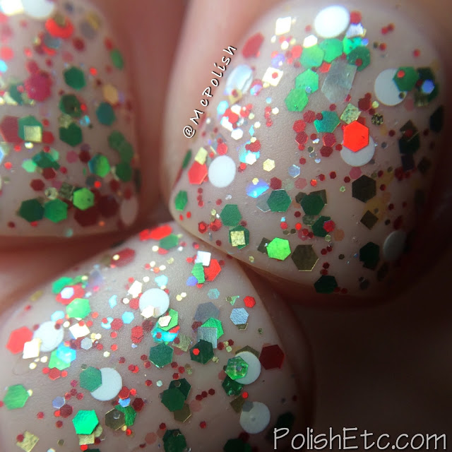 Nine Zero Lacquer - Holiday 2015 Collection - McPolish - Stocking Stuffer