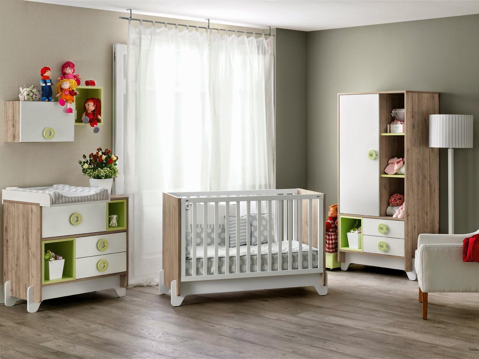 Cuna conexi n habitaci n beb muebles ros - Mobiliario habitacion bebe ...