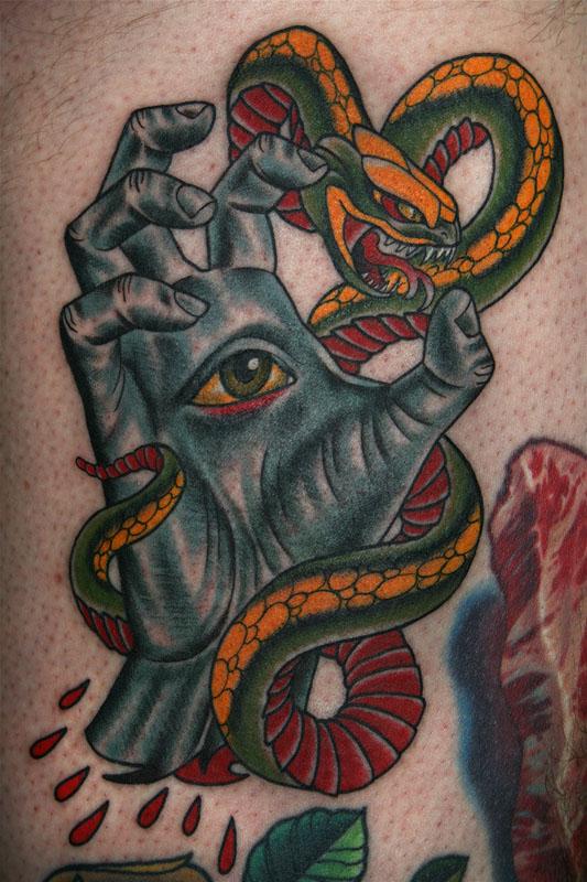 Tattoos By Stefan Johnsson Santa Cruz