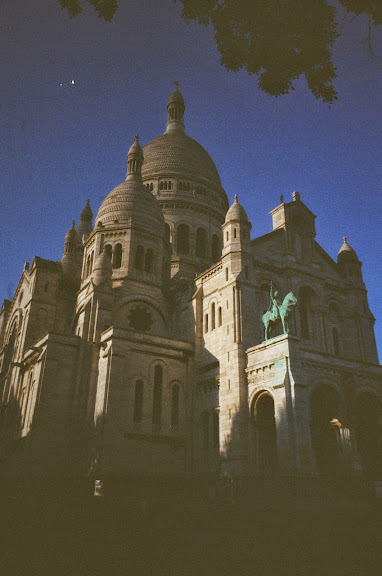 Sacré-Cœur Basilica film photography