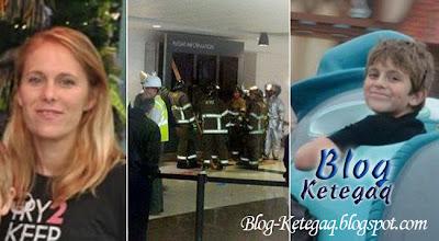 Budak mati ditimpa papan tanda di lapangan terbang