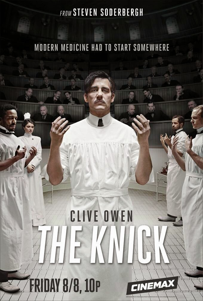 the nick, clive owen, serie, steven soderbergh, medicina, el zorro con gafas