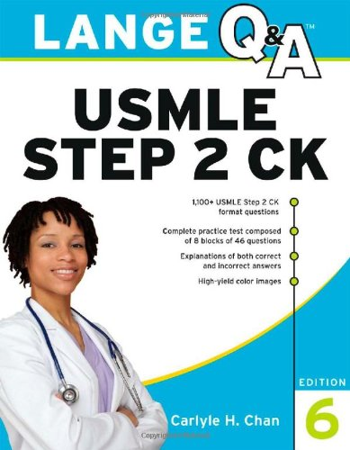Lange Hỏi và Đáp Luyện thi USMLE Step 2CK 6e