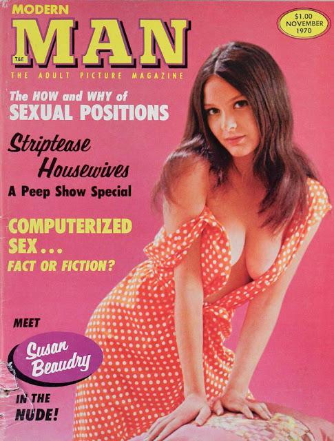Vintage adult magazine