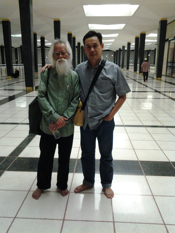 Bersama Pak Samad, Okt 2012