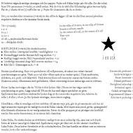 ★ - i en ask. PDF -utskriftsvänlig